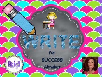 Write For Success:  Alphabet
