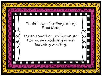Write From the Beginning Flee Map