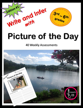 Write & Infer with Picture of the Day 3rd - 6th  - edition 1