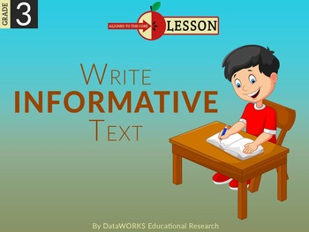 Write Informative Text