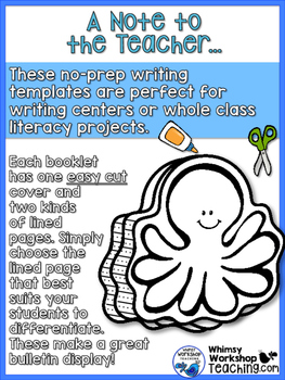Write Inside SEA LIFE Writing Prompts
