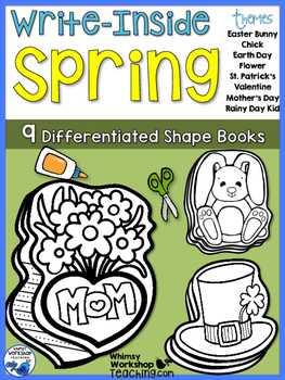 Write Inside SPRING Writing Prompts