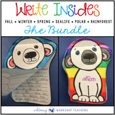Write-Insides: 50 Shape Booklets