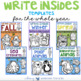 Write-Insides: 50 Shape Booklets