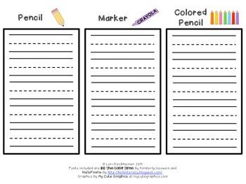 Write It 3 Times - Sight Words, Spelling Words, Pattern Words