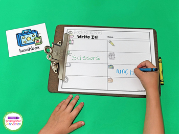 Write It! Back to School Writing Activities