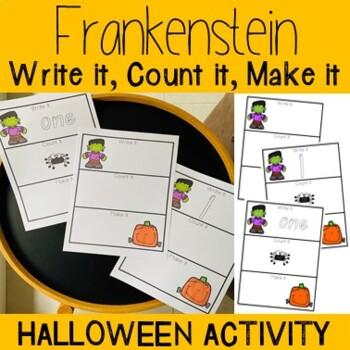 Write It, Count It, Make It- Frankenstein