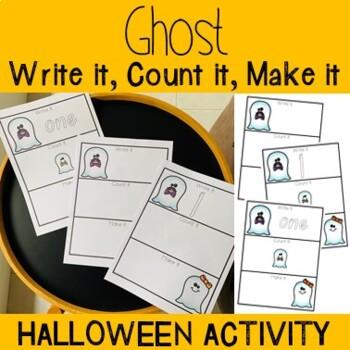 Write It, Count It, Make It- Ghost