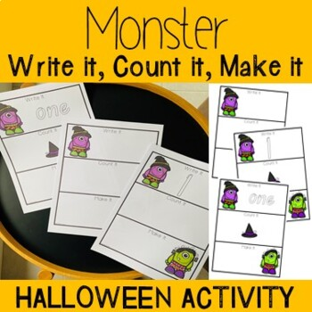 Write It, Count It, Make It- Monster