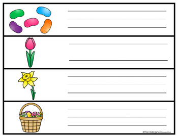 Write It! Easter Writing Center Activities