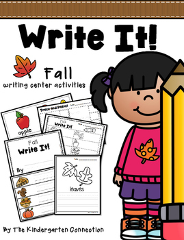 Write It! Fall Writing Center Activities