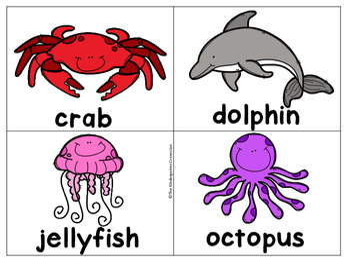 Write It! Ocean Animals Writing Center Activities