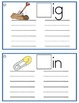 Word Families Write It Phonics Cards