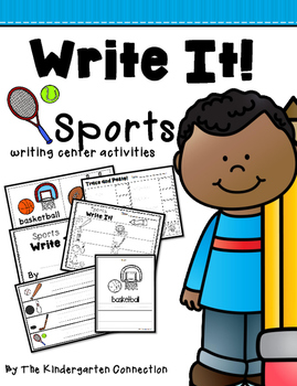 Write It! Sports Writing Center Activities