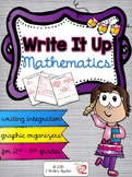 Writing & Math Graphic Organizers