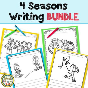 Write, Label and Color 4 Seasons Writing Bundle