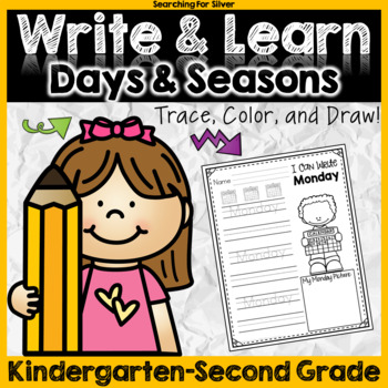 Write & Learn: Days of the Week and Seasons