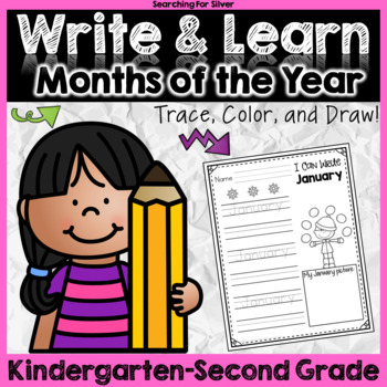 Write & Learn: Months of the Year