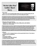 Write Like Poe Short Story Assignment