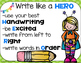 Write Like a Hero Organizer and Anchor Chart