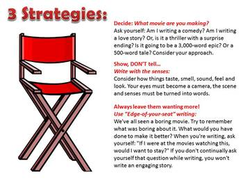 Write Like a Movie - Writing Engaging Narratives