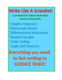 Write Like a Scientist...Claim/Evidence/Reasoning
