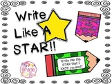 Write Like a Star Bookmarks and Notes