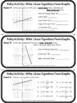 Write Linear Equations From Graphs Relay Activity