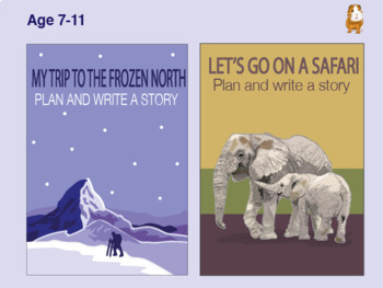 Write Lot's Of Stories About Being Out And About: Pack 2 (7-11 years)