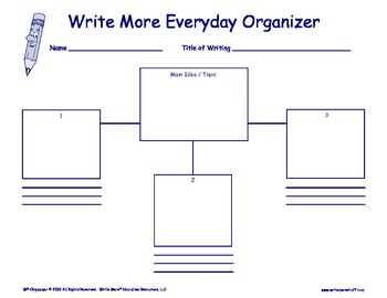 Write More Everyday Organizer