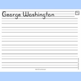 Write-My-Name Worksheet - handwriting practice with Sunshine Script