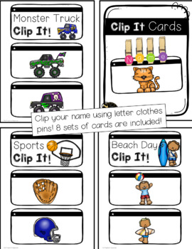 Write My Name (and Sight Word) Centers Bundle!!