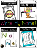 Write My Name / Spell My Name / Name Writing Centers