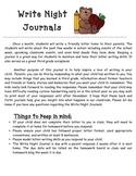 Write Night Journal