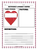 Write Now: Dictionary Library Center - February Hearts