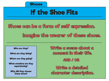 Write Now: Prompts for Creative Writing: If the Shoe Fits- Volume 1