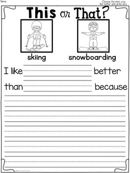 Write Now! Winter Edition- Daily Common Core Writing Prompts