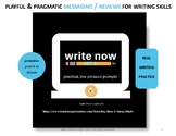Write Now-daily practice for composition (no syntax strugg