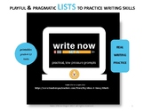 Write Now-daily practice for composition...no syntax strug