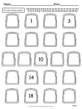 Write Numbers 0-20 (Set 1)