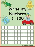 Write Numbers 1-100 Distance Learning