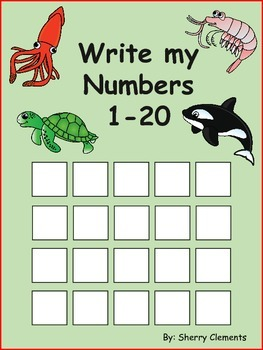 Write Numbers 1-20 (find patterns)