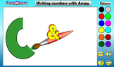 Write Numbers to 10 with Ampy Android App PREVIEW