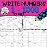 Write Numbers to 1000