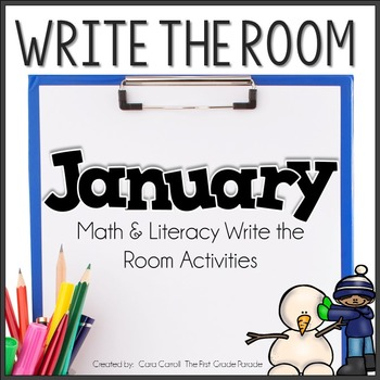 Write the Room Literacy & Math