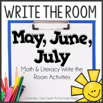 Write the Room - May/June/July