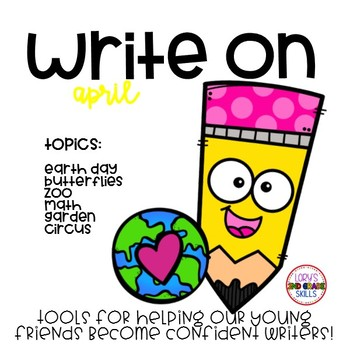 Write On... Monthly APRIL Bundle