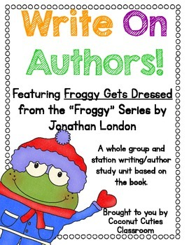 Write On Authors {Froggy Series}