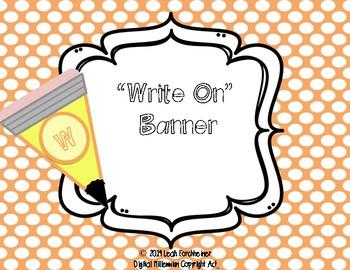 Write On Banner
