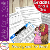 Writing Activities for a Month | Beauty and the Beast Level I